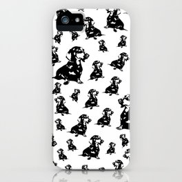 DOXIE DOG GIFTS FOR YOU FROM MONOFACES IN 2020 iPhone Case