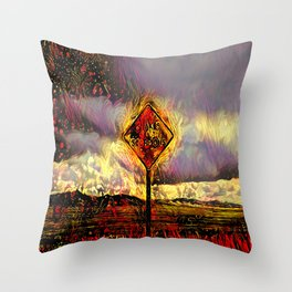 Snakes and Scorpions  Throw Pillow