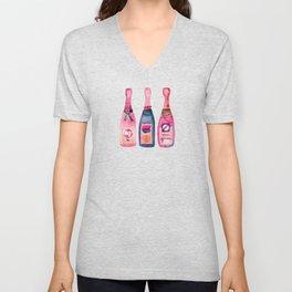 Champagne Collection Unisex V-Neck