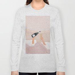 Morning Wine Long Sleeve T-shirt