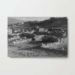 Ruins in Israel Metal Print