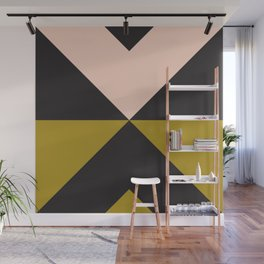 Split X Olive Pink Wall Mural