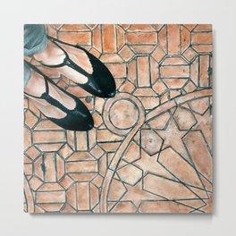 Art Beneath Our Feet - Elda, Spain Metal Print