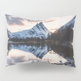 Northern Spring - Landscape and Nature Photography Pillow Sham
