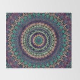 Mandala 580 Throw Blanket