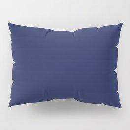 Solid Navy blue Pillow Sham