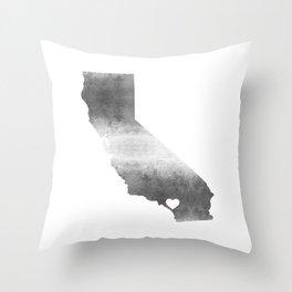 Orange County California Love Throw Pillow
