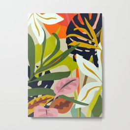 Jungle Abstract 2 Metal Print