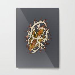 Elder Sign - Sagittarius Metal Print