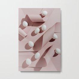 White eggs Metal Print