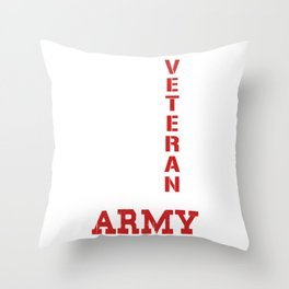 Veteran of the United States Throw Pillow