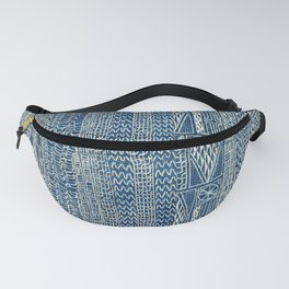 Ndop Cameroon West African Textile Print Fanny Pack