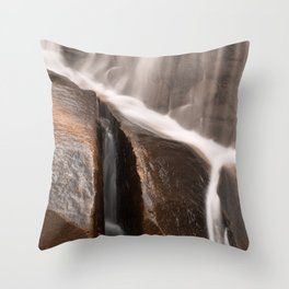 Sliver Falls Throw Pillow