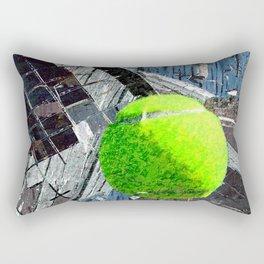 Tennis art print work 13 Rectangular Pillow