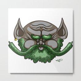 Bearded Fella Metal Print