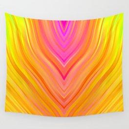 stripes wave pattern 3 stdi Wall Tapestry