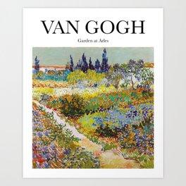 Van Gogh - Garden at Arles Art Print