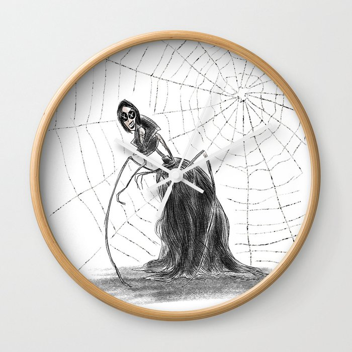 Coraline The Other Mother Wall Clock By Hollydoesart Society6