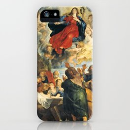 The Assumption of the Virgin Mary - Peter Paul Rubens iPhone Case
