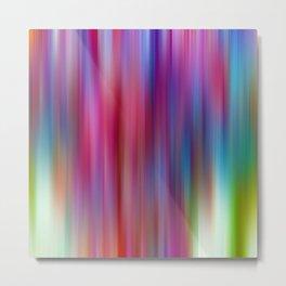 Color Streaks No 15 Metal Print