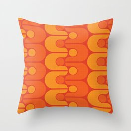 Golden Oldie Throw Pillow