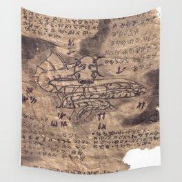 Book of Nightmares Sky Serpent Wall Tapestry