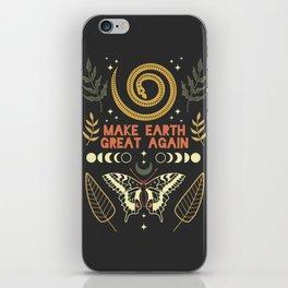 Make Earth Great Again iPhone Skin