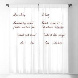 Dear George Blackout Curtain