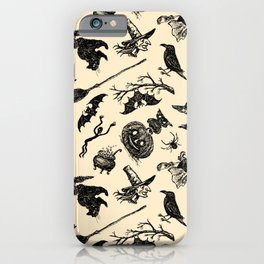 Wizard and Witch Pattern | Magic Sorcery Conjuring iPhone Case