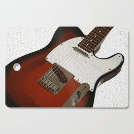 Electric Guitar Cutting Board