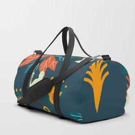 Tropical wild kitties Duffle Bag