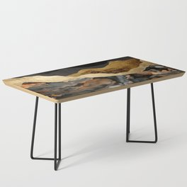 Copper and Gold Mountains Coffee Table