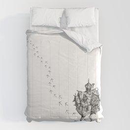 Baba Yaga's Hut Comforters