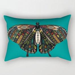 swallowtail butterfly teal Rectangular Pillow