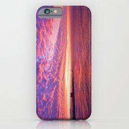 Sunrise #2 Huntington Beach Pier   11/12/13 iPhone Case