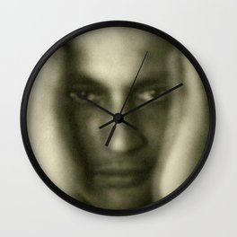 The Invisible Man Wall Clock