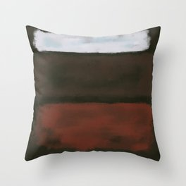 Rothko Inspired #16 Throw Pillow