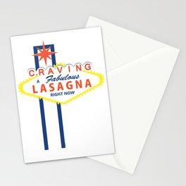 Las Vegas Lasagna Stationery Cards