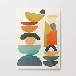 Modern Abstract Art 72 Metal Print