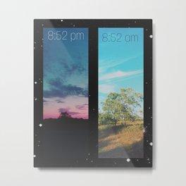 8:52 Metal Print
