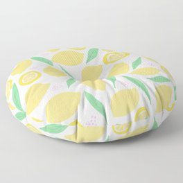 Pink Lemonade II Floor Pillow