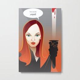 Kill Bill Metal Print
