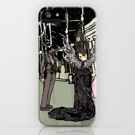 News Years Eve in London iPhone Case