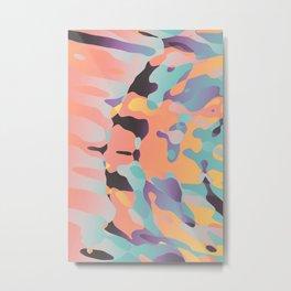 Planetary Fragmentation Metal Print