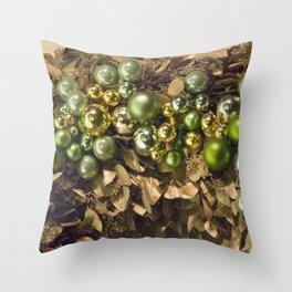 Longwood Gardens Christmas Series 62 Throw Pillow