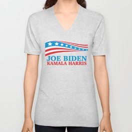 Joe Biden Kamala Harris for America Unisex V-Neck