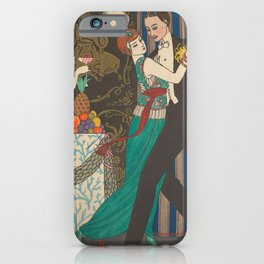 George Barbier Dance Fashion and Manners Today 1912 iPhone Case
