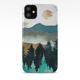 Forest Mist iPhone Case