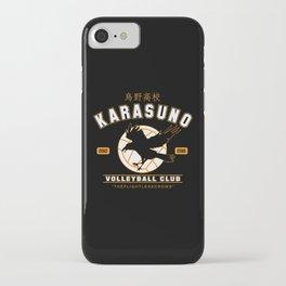 Karasuno iPhone Case