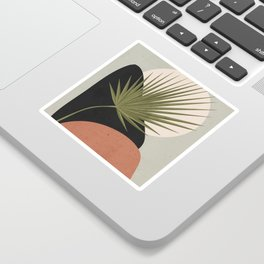 Tropical Leaf- Abstract Art 5 Sticker